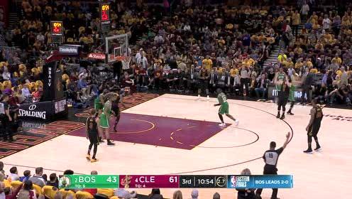 10月08日NBA季前赛 马刺vs火箭 精彩镜头