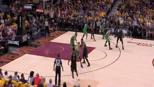[QQ原声]02月13日NBA常规赛 老鹰vs骑士 第四节 录像