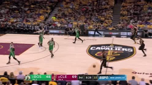 10月08日NBA季前赛 开拓者vs爵士 精彩镜头