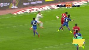 中超-王燊超传射阿瑙托维奇破门 上港3-0重庆七轮不败