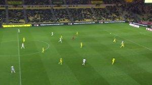 [进球视频] 比利时发动快速进攻 德布劳内右脚巧射入网